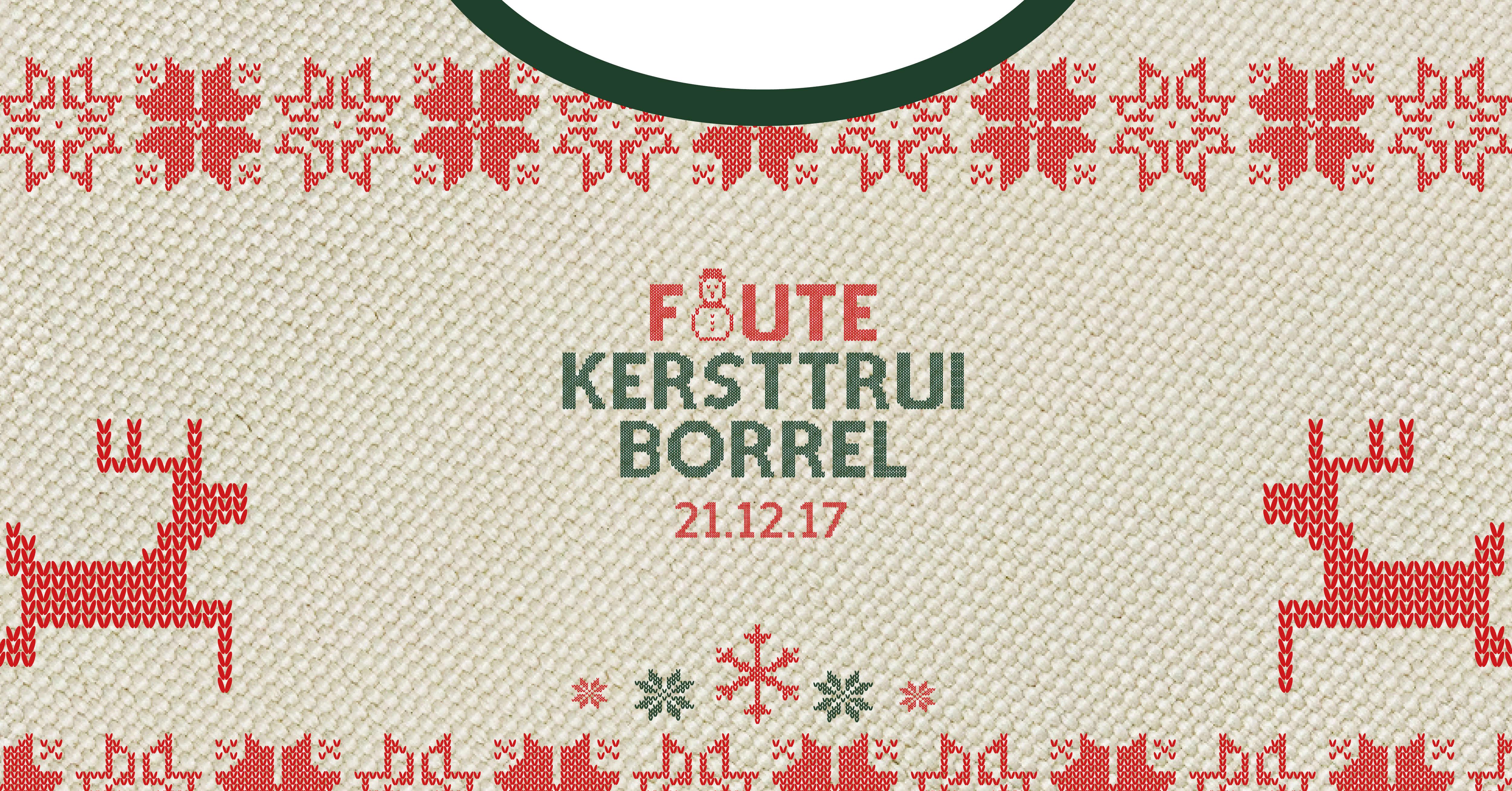 Foute Kersttrui Borrel.Foute Kersttrui Borrel The Basket Utrecht